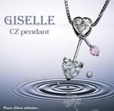 ジュエリーの仕上がり!人気のベネチアチェーン CZダイヤモンドペンダント 「クロノス」