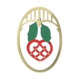 【KAREN VIUM DESIGN】オーバルハート☆クリスマス☆