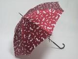 ●人気のネコ柄●婦人傘サテン