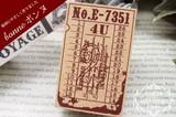 【日本製】ロンドン橋チケット スタンプ