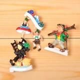 【今にも動き出しそう♪】ドイツ製ブローチ(アルペンダンス)・(スキー)・(煙突掃除)