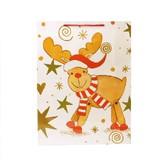 <大幅値下げ>クリスマス柄♪大型ギフト用手提げ紙袋