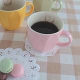 ♪♪素朴でナチュラル感のある優しい♪♪ シャルロット マグカップ ◇日本製