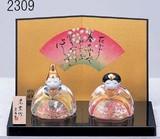 ★ひな祭り★「置物とインテリア」 雛人形 【ガラス製 玻璃雛】