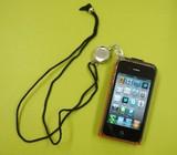 【スマートフォンに超便利!】ネックピース リールキー付#9202AH