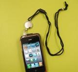 【スマートフォンにも使える!】ネックピース リールキー(セイフティーホルダー付) #9202A