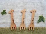 ANIMAL Giraffe Snack Fork