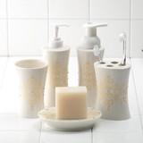 洗面シリーズ 【ロココ】 アラベスク模様にラインストーンのアクセント