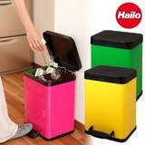 【直送可】Hailo(ハイロ) ペダルビン トレントエコ2x11L(ごみ箱)