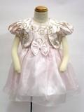 【在庫一掃セール!】<ボレロ付き2ウェイドレス>キッズドレス☆トドラーサイズ・フォーマル