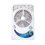 【大幅プライスダウン】乾電池&USB対応 LEDライト付き 扇風機 CLB-806 /熱中症対策 節電 清涼