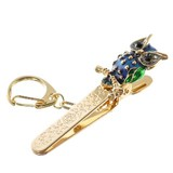 Owl Bag Clip Key Ring Bag Charm