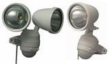 【信頼のOHMブランド】業界初!AC(家庭用電源で使う)式  強力LEDセンサーライト