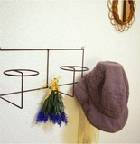 Iron Hat Hook Natural Miscellaneous goods