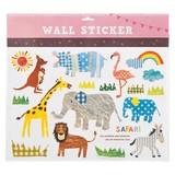 ウォールステッカー (SS) キッズサファリ (インテリアシール/壁紙/模様替え)☆Wall Sticker☆