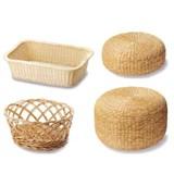 座布団・座布団イス・脱衣・洗濯カゴ/オリジナル(Laundry basket and Cushion) -1050