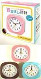 【電気用品】目覚まし時計 ナチュラル