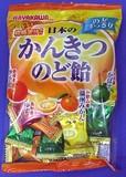早川製菓 日本のかんきつのど飴