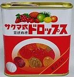 佐久間 サクマ式缶ドロップスミニ(赤缶)【食品】