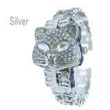 キラキラ猫のブレスレット腕時計☆