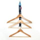 【デットスペースを有効活用】吊り下げループハンガー(3色)