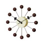 ミッドセンチュリー時代の名作【GrorgeNelson/ジョージネルソン】ボールクロック掛け時計ウォルナット