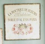■SPICE SALE■ TIN PLATE LA BOUTIQUE DE FLEURS