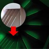 高輝度蓄光テープある・ふら14本入 光を蓄え、長時間光る!めくって貼るだけ、電気代0円!
