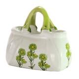 ■特価品 ◆インテリア バッグ型花器 O-2