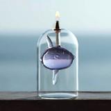 【大特価】【オイルランプ】 マンボウ オイルランプ【在庫限り】
