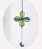 Burietto【ブリエット】 Stained glass ステンドグラス クローバー