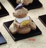 【インテリア雑貨】 【SALE】 癒し地蔵さん/ 無量地蔵さま(台付) <在庫限り限定品>