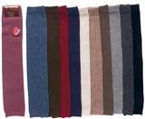【秋冬】贅沢な天然素材の暖かさ ウール100% カシミヤ&ラム ひざ上丈レッグウォーマー