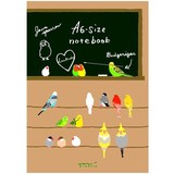 【カラフルな鳥たち】ノート(A5)(A6) トリ柄