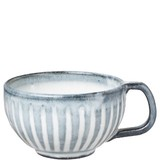 【和マグカップ】ゆらんスープマグ タルブルー
