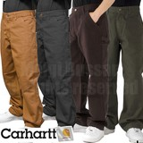 CARHARTT (B11) 洗い加工 ダック ワークパンツ / WASHED-DUCK WORK DUBGAREE 【カーハート】(定番品)
