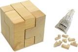【ATC】木製キューブパズル [001715]