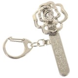 Rose Design Bag Clip Key Ring Bag Charm