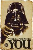 ■ポスター■610X915mm★STAR WARS empire needs you