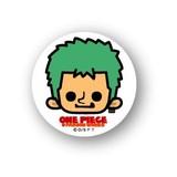 ONE PIECE(ワンピース)Xパンソンワークス缶バッジ/OPC-04 ゾロ