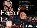【★大SALE★】HeavenLeef宝飾ブレス時計★HL-1504PG