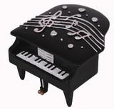 【 ミニピアノ型オルゴール 】 ♪ノクターン