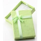 【販促パッケージ・タグ】ペンダントトップケース(紙) 緑 (10個セット)