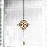 Burietto Stained glass ブリエット ステンドグラス クロスフラワー