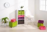 【カラーボックス収納&小物整理ボックス】 squ+ インボックス L