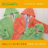 Ladies Bathrobe IMABARI TOWEL The Same Design Child Towel STRIPE