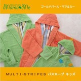 Kids Bathrobe IMABARI TOWEL The Same Design Child Towel STRIPE