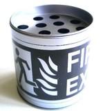 筒型灰皿4 (水漏れ防止タイプ)RTA-4【日用品雑貨】