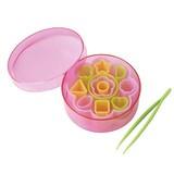 【お弁当抜き型】ハム・チーズ収納セット<ピンセット付き>