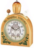 新品!リズム時計製目覚まし時計 トトロR455N 4RA455MN06
